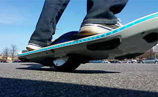 اسکیت برد برقی اف اسپید مدل Surf 1