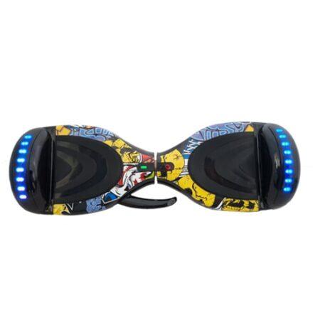 اسکوتر برقی ۸ اینچ ۲۰۲۰ زرد فشن